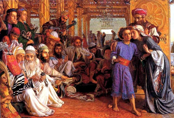 The Finding of Jesus in the Temple, William Holman Hunt
