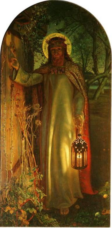 'The Light of the World', Holman Hunt
