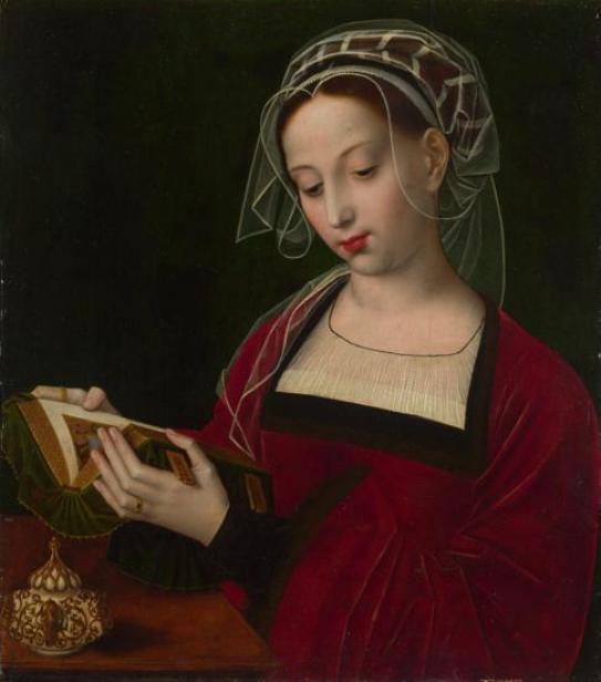 'The Magdalene Reading', Ambrosius Benson, 1525