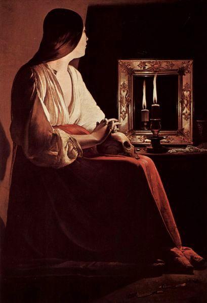 'The Repenting Magdalene', Georges de La Tour, late 1630's