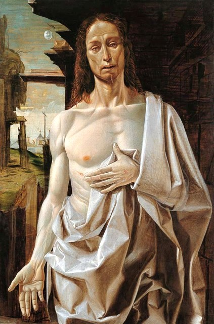 Bramantino, The Resurrected Christ, 1490