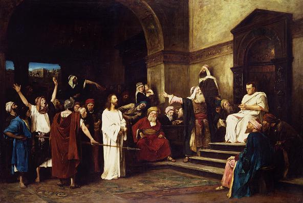 Christ Before Pilate, Mihaly Munkacsy