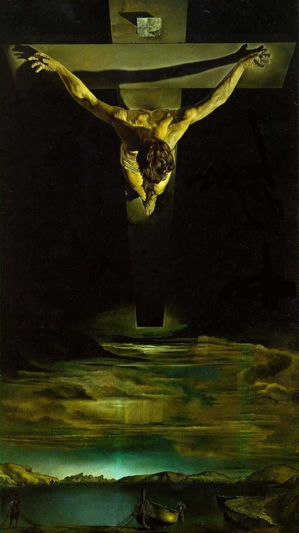 Christ of St John of the Cross, Salvador Dali
