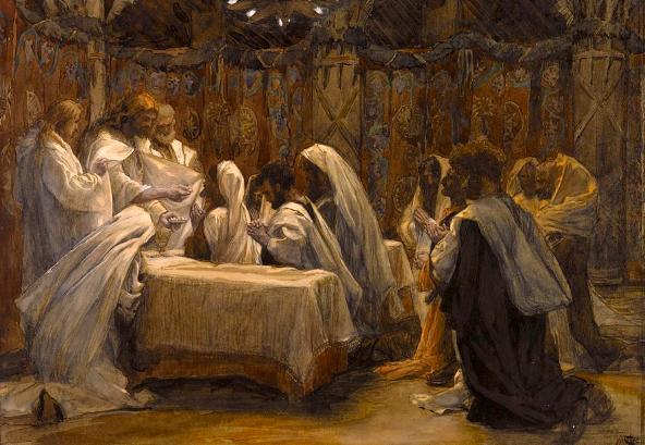 Communion of the Apostles, James Tissot