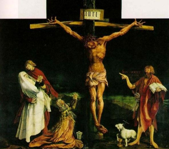 Crucifixion, Matthias Grunewald