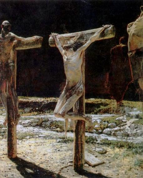 Crucifixion, Nicolai Ge