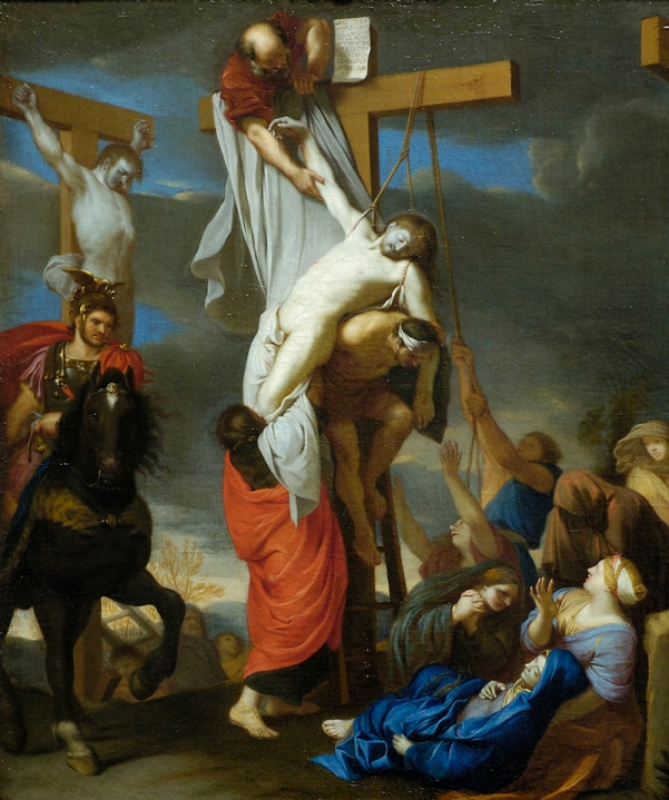 'Descent from the Cross', Charles Le Brun