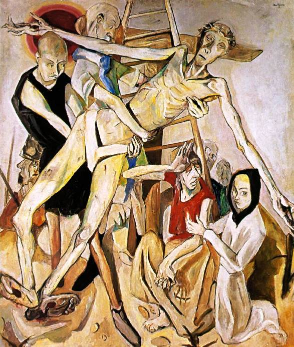 'Descent from the Cross', Max Beckmann 1917