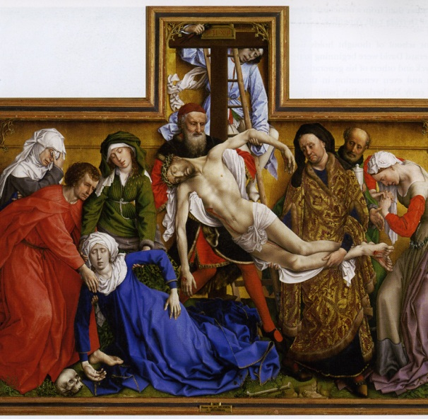 'Descent from the Cross', Rogier Weyden
