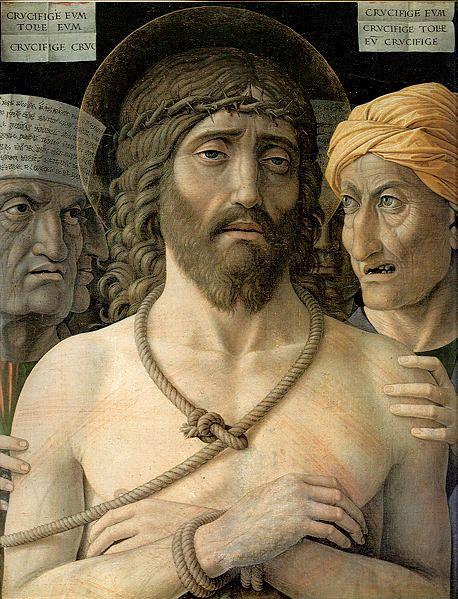 'Ecce Homo' (Behold the Man), Mantegna