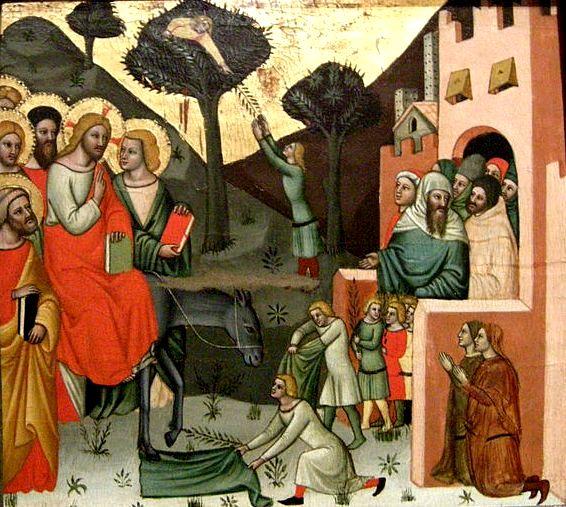 Entry into Jerusalem, Cristoforo da Bologna