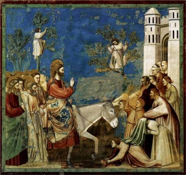 Entry into Jerusalem, Giotto
