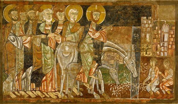 Entry into Jerusalem, Master of San Baudelio de Berlanga, 1125
