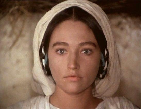 Mary in Franco Zeffirelli's film 'Jesus of Nazareth'