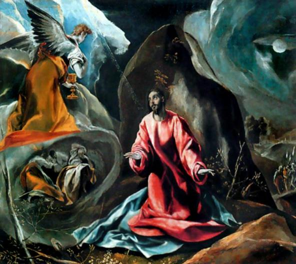 The Agony in the Garden, El Greco, 1590-1600