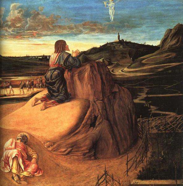 The Agony in the Garden, Giovanni Bellini, 1459