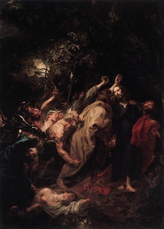 The Capture of Jesus, Van Dyck