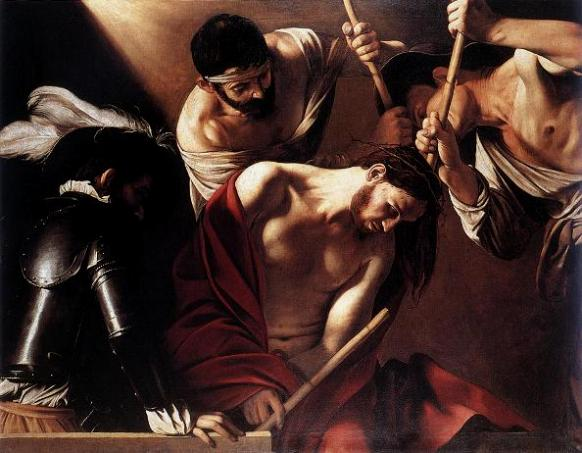 The Crowning with Thorns, Caravaggio