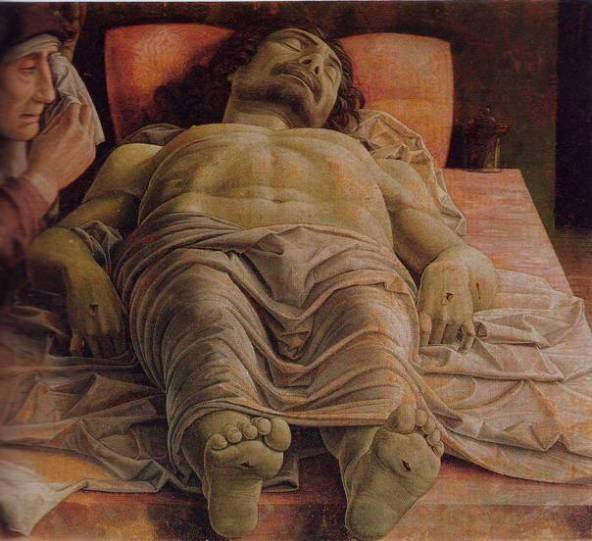 The Dead Christ, Mantegna