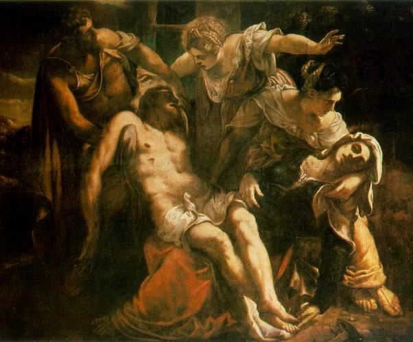 'The Descent from the Cross', Tintoretto