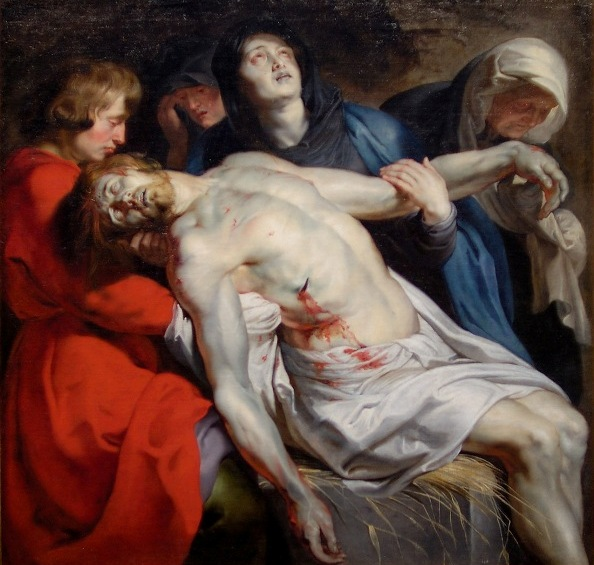 The Entombment, Peter Paul Rubens, 1612