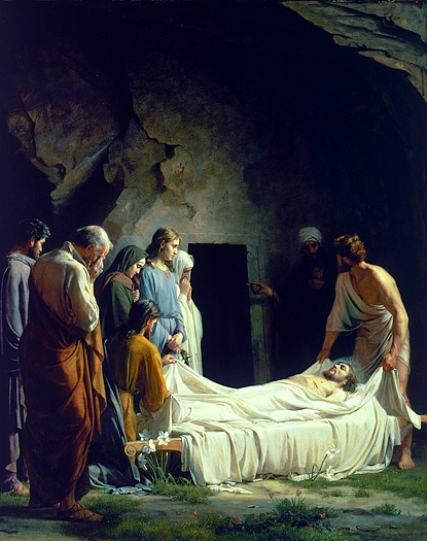 The Entombment of Christ, Carl Bloch