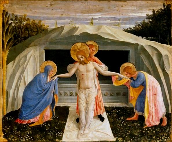 The Entombment of Christ, Fra Angelico