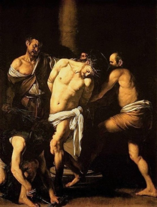 The Flagellation of Christ, Caravaggio