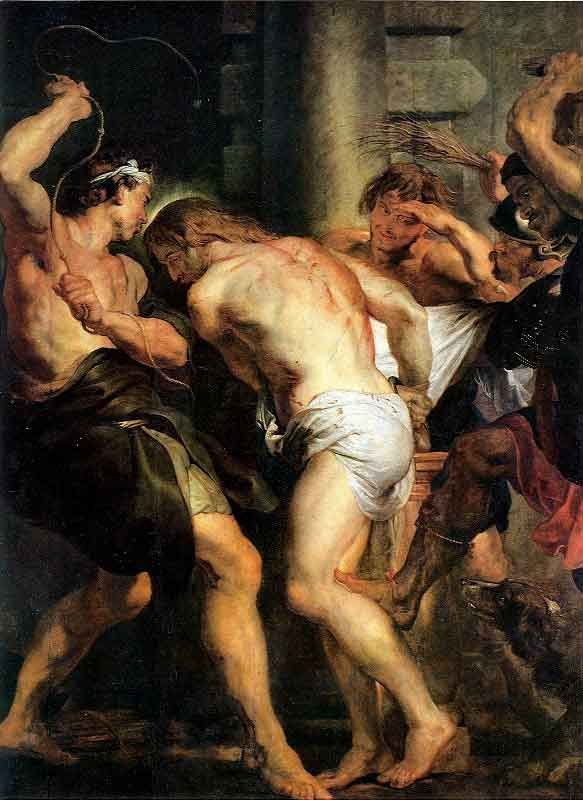 The Flagellation of Christ, Peter Paul Rubens