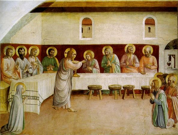 The Last Supper, Fra Angelico, 1522