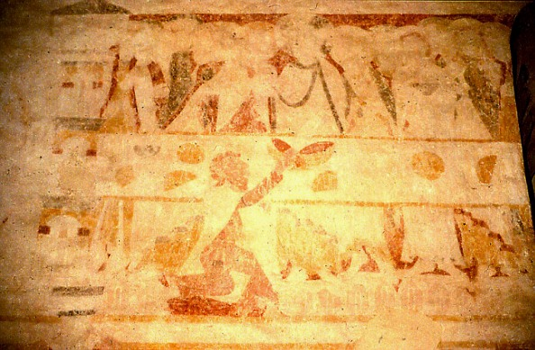The Last Supper, Passion Cycle, Ickleton, Cambridgeshire, 1150-1200