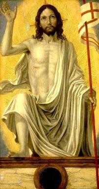 The Risen Christ, Ambrogio de Stefano Borgognone, 1510
