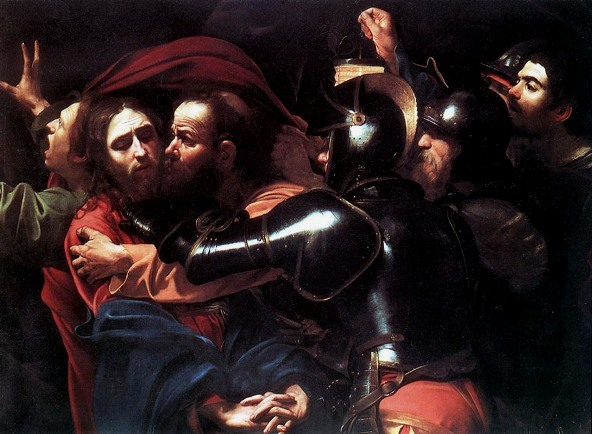 The Taking of Christ, Caravaggio, 1602